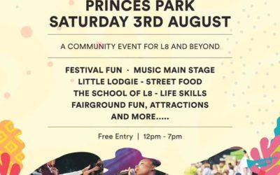 Princes Park Community Event 3rd August