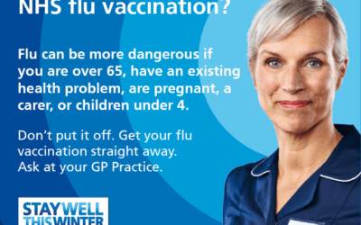 Flu jab drop-in 26th November
