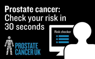Men urged to check their prostate cancer risk